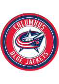 Columbus Blue Jackets Modern Disc Sign