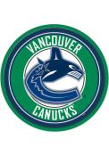 Vancouver Canucks Modern Disc Sign