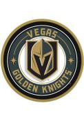 Vegas Golden Knights Modern Disc Sign