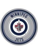 Winnipeg Jets Modern Disc Sign