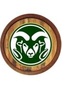 Colorado State Rams Faux Barrel Top Sign