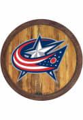Columbus Blue Jackets Faux Barrel Top Sign