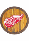 Detroit Red Wings Faux Barrel Top Sign