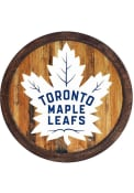 Toronto Maple Leafs Faux Barrel Top Sign