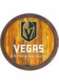 Vegas Golden Knights Faux Barrel Top Sign