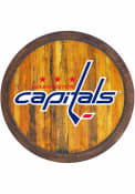 Washington Capitals Faux Barrel Top Sign