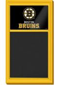 Boston Bruins Chalk Noteboard Sign
