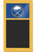 Buffalo Sabres Chalk Noteboard Sign