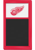 Detroit Red Wings Chalk Noteboard Sign