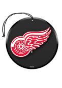 Detroit Red Wings 3 Pack Car Air Fresheners - Black