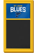 St Louis Blues Chalk Noteboard Sign