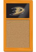 Anaheim Ducks Cork Noteboard Sign