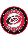 Carolina Hurricanes Modern Disc Wall Clock