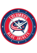 Columbus Blue Jackets Modern Disc Wall Clock