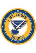St Louis Blues Modern Disc Wall Clock