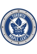 Toronto Maple Leafs Modern Disc Wall Clock
