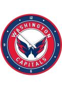 Washington Capitals Modern Disc Wall Clock