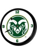 Colorado State Rams Retro Lighted Wall Clock