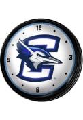 Creighton Bluejays Retro Lighted Wall Clock