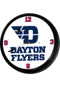 Dayton Flyers Mascot Retro Lighted Wall Clock