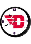 Dayton Flyers Retro Lighted Wall Clock