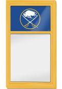 Buffalo Sabres Dry Erase Noteboard Sign