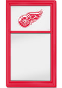 Detroit Red Wings Dry Erase Noteboard Sign