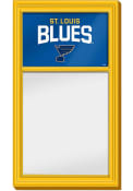St Louis Blues Dry Erase Noteboard Sign