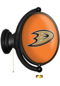 Anaheim Ducks Oval Rotating Lighted Sign