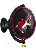 Arizona Coyotes Oval Rotating Lighted Sign