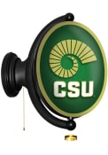 Colorado State Rams Horn Oval Rotating Lighted Sign