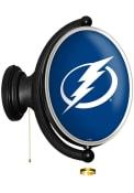 Tampa Bay Lightning Oval Rotating Lighted Sign