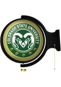 Colorado State Rams Round Rotating Lighted Sign