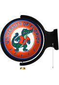 Florida Gators Albert Gator Round Rotating Lighted Sign