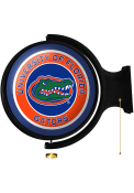 Florida Gators Round Rotating Lighted Sign