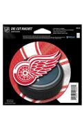 Detroit Red Wings Die Cut Logo Puck Magnet