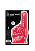 Detroit Red Wings Die Cut #1 Finger Magnet