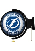 Tampa Bay Lightning Round Rotating Lighted Sign