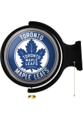 Toronto Maple Leafs Round Rotating Lighted Sign