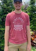 Cincinnati Red Starry Scape Short Sleeve T-Shirt