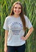 Cleveland Vapor Blue Starry Scape Short Sleeve T-Shirt