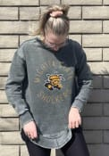 Wichita State Shockers Womens Bakersfield Crew Sweatshirt - Black
