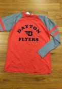 Dayton Flyers Womens Piper Raglan T-Shirt - Red