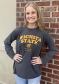 Wichita State Shockers Womens Visalia T-Shirt - Black