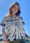 Detroit Womens Tie-Dye T-Shirt - Black