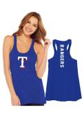 Texas Rangers Womens Multi Count Tank Top - Blue