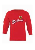 Chicago Blackhawks Baby Red Script T-Shirt