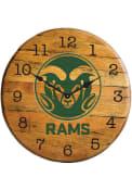 Colorado State Rams Team Logo Wall Clock