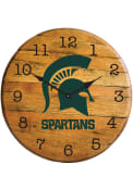 Michigan State Spartans Team Logo Wall Clock