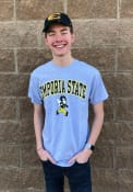 Emporia State Hornets Grey Arch Tee